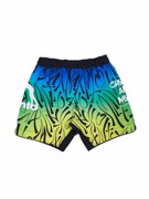 MANTO chokes and more FIGHT SHORTS-green