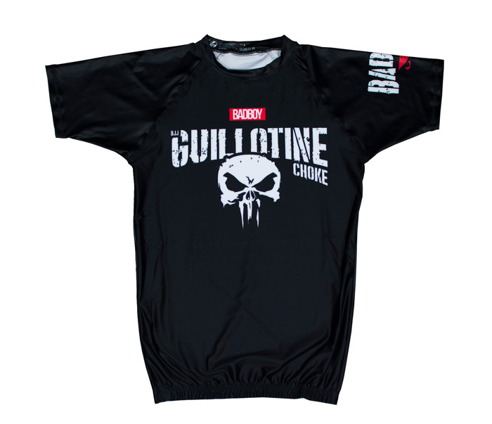 BAD BOY Guillotine RASHGUARD - BLACK