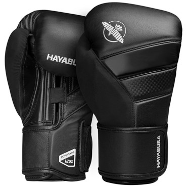 Hayabusa T3 Boxing Gloves - BLACK