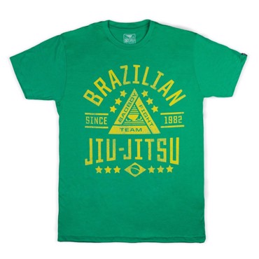 BAD BOY BJJ Foundation Green Tshirt