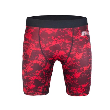 BAD BOY X-TRAIN COMPRESSION Shorts -Black/Red