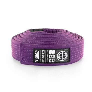 Bad Boy BJJ Belt -Purple