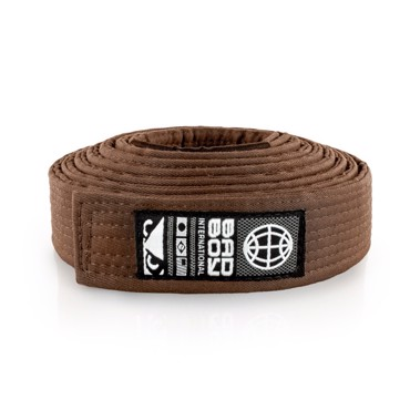 Bad Boy BJJ Belt -Brown
