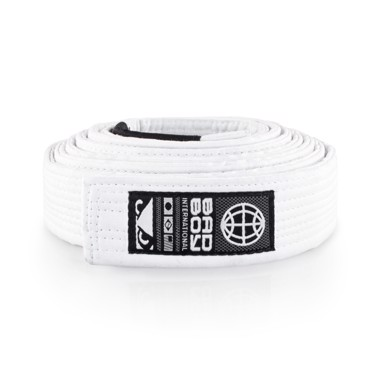 Bad Boy BJJ Belt -White