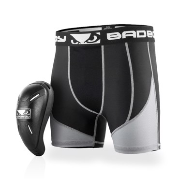 BAD BOY FULL GUARD SHORTS & CUP