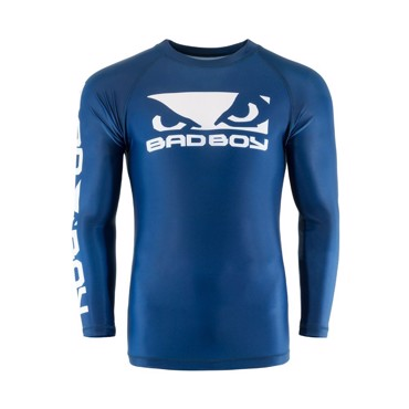 Bad Boy Origin Rash Guard - Long Sleeves  Blue