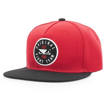 BAD BOY Original Fight Team Snapback -Red